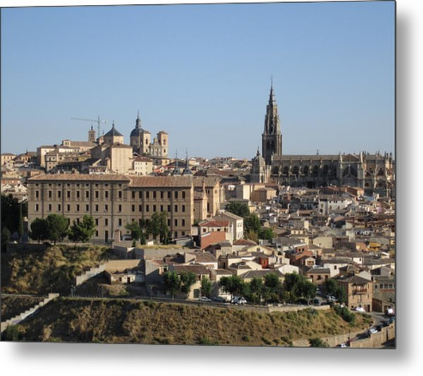 Toledo Cathedral Metal Print