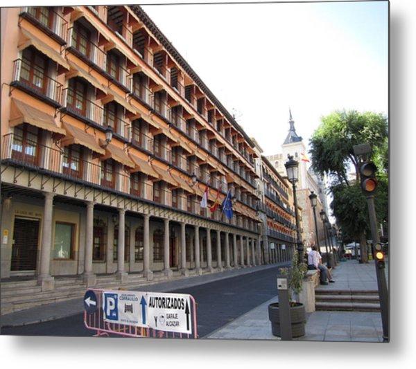 Toledo Promenade Metal Print