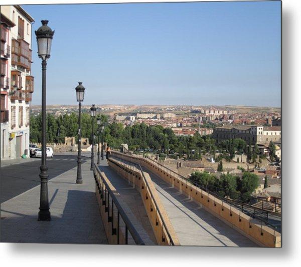 Toledo Walkway II Metal Print