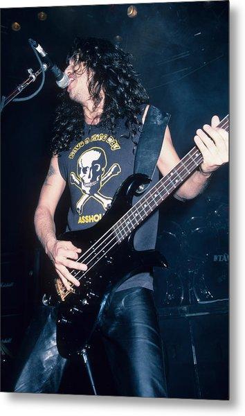 Tom Araya Of Slayer Metal Print