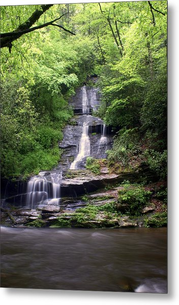 Tom Branch Falls Metal Print