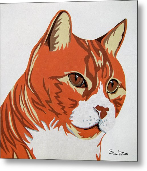 Tom Cat Metal Print