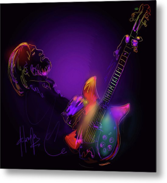 Tom Petty Tribute 1 Metal Print