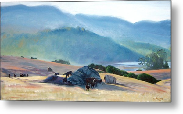 Tomales Twilight Metal Print by Colleen Proppe