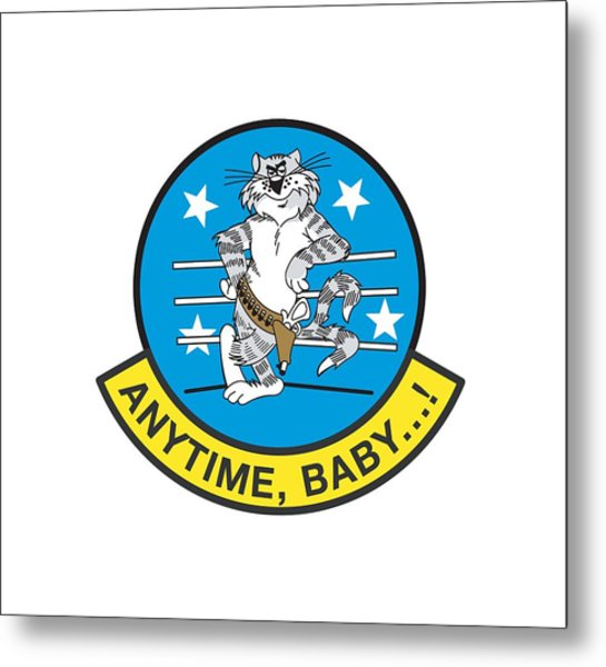 Tomcat Anytime Baby Metal Print