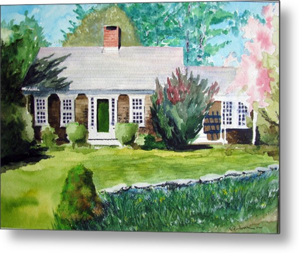 Toms House Metal Print by Ron Imbriglio