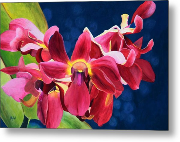 Tom's Orchid Metal Print