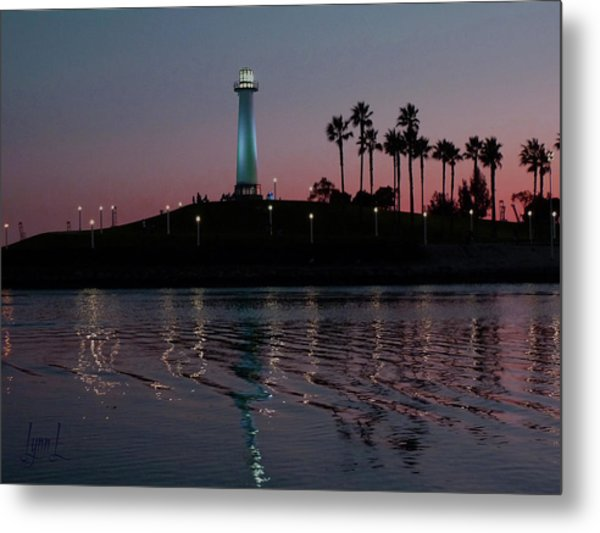 Tones In Twilight Metal Print by S Lynn Lehman