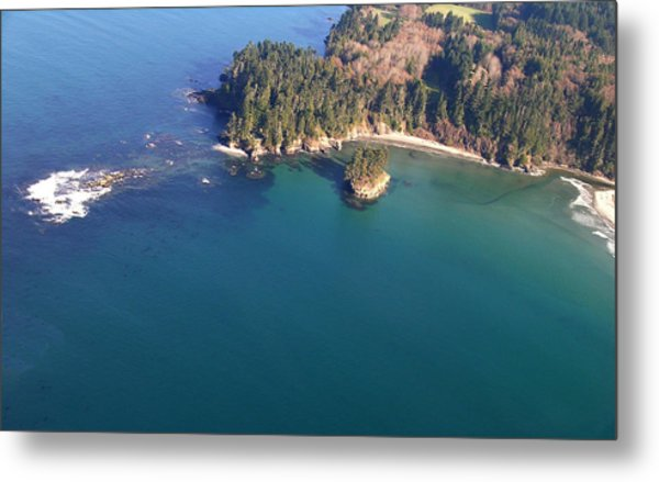 Tongue Point Metal Print by Wilbur Young