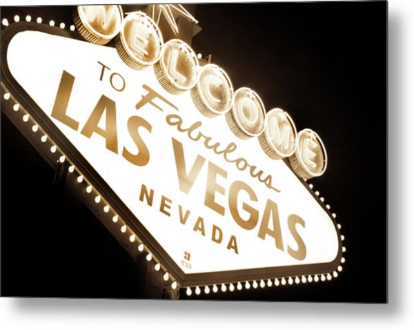 Tonight In Vegas Metal Print