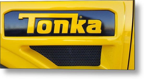 Tonka Truck Logo Metal Print