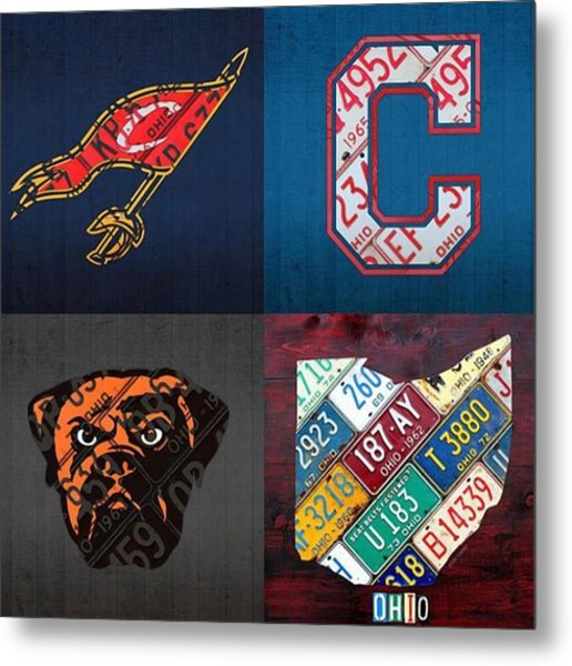 Tons More Sports City Designs Just Metal Print