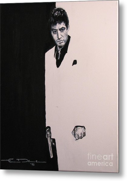 Tony Montana - Scarface Metal Print