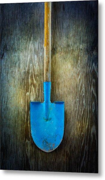Tools On Wood 23 Metal Print