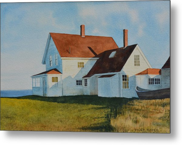 Top Of Monhegan Metal Print