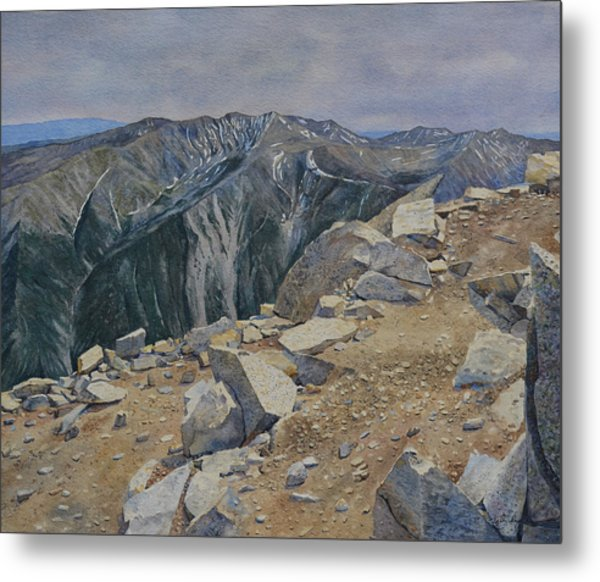Top Of Mt. Princeton Metal Print