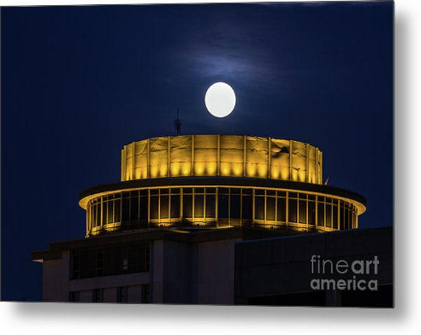 Top Of The Capstone Metal Print