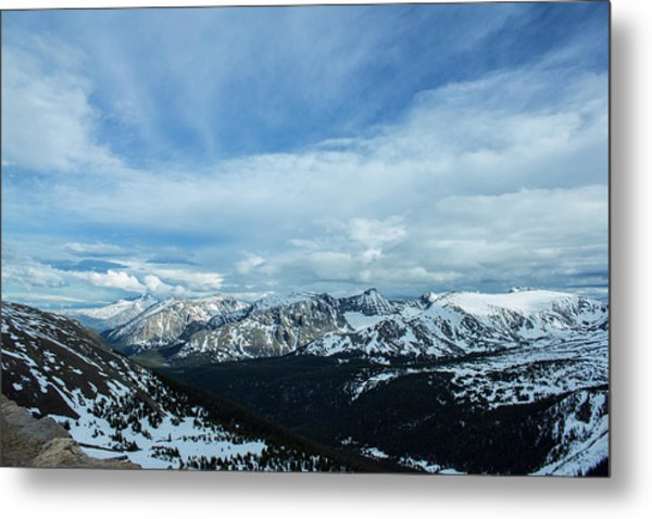 Top Of The Rockies Metal Print