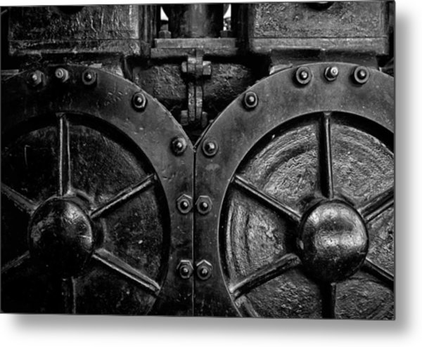 Metal Print featuring the photograph Toronto Distillery District 1 by Brian Carson
