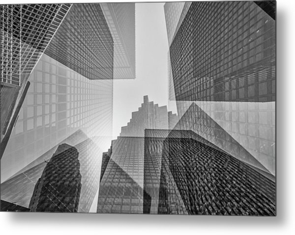 Toronto Financial District Metal Print