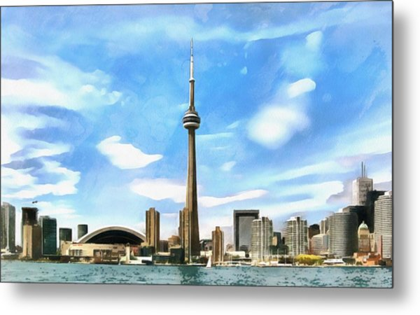 Toronto Waterfront - Canada Metal Print