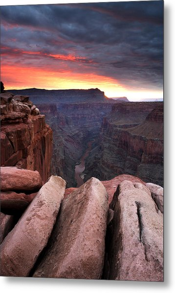 Toroweap Dawn Metal Print by Eric Foltz