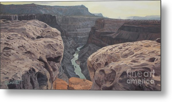 Toroweap Overlook Grand Canyon North Rim Metal Print
