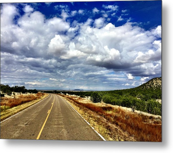 Torrance County Clouds Metal Print