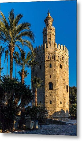 Torre Del Oro Sevilla Spain Metal Print