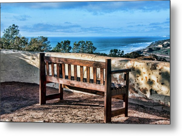 Torrey Pines View Metal Print