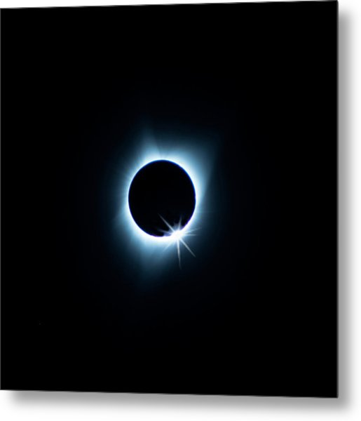 Total Eclipse Metal Print