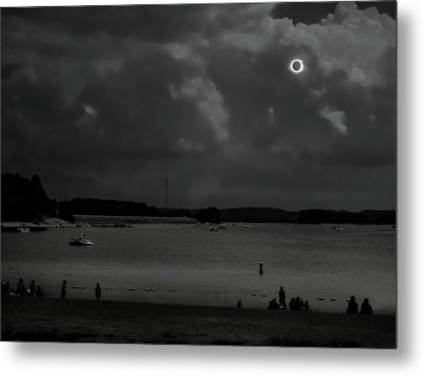 Total Solar Eclipse At Clemson Metal Print