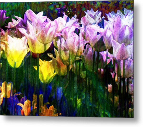 Totally Tulips Metal Print