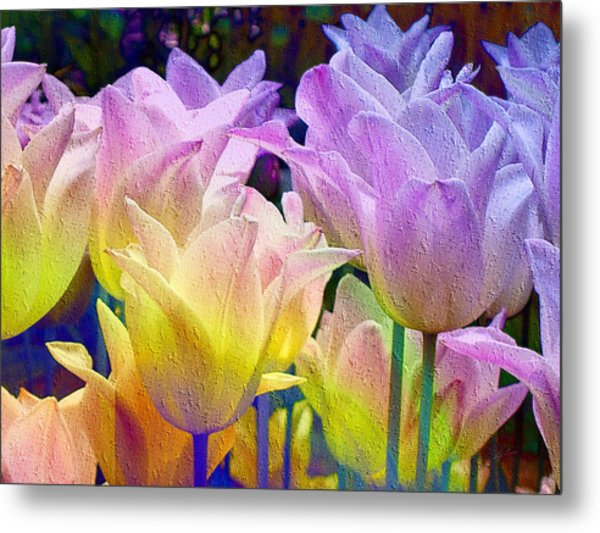 Totally Tulips Two Metal Print