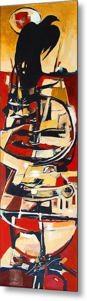 Totem Metal Print by Dale  Witherow