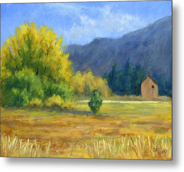 Touch Of Autumn Metal Print by David King