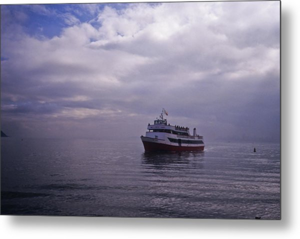 Tour Boat San Francisco Bay Metal Print