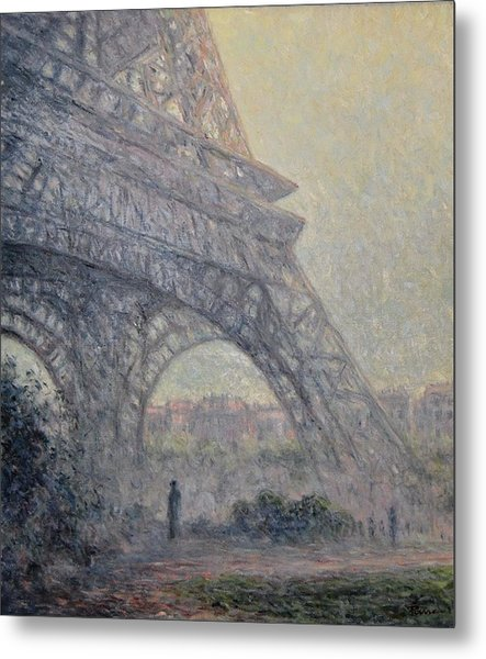 Paris , Tour De Eiffel  Metal Print