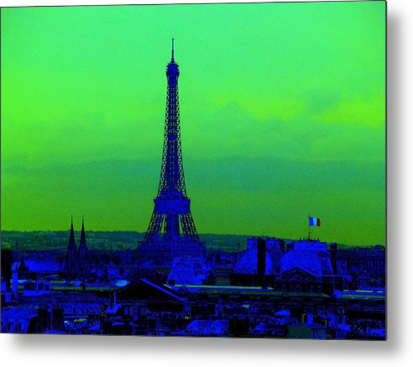 Tour Eiffel Metal Print by Aline Kala