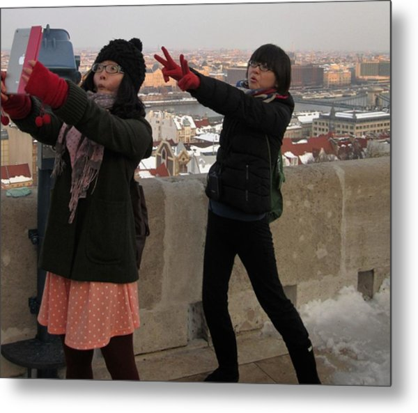 Photograph - Tourists In Budapest by Travel Pics