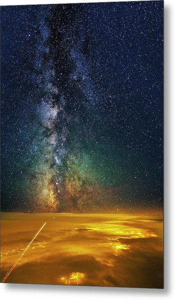Towards The Core Metal Print