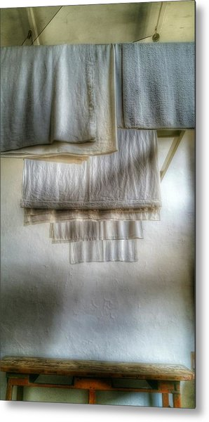 Towels And Sheets Metal Print