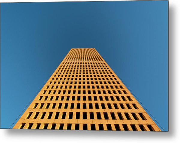 Tower At Sunset Metal Print