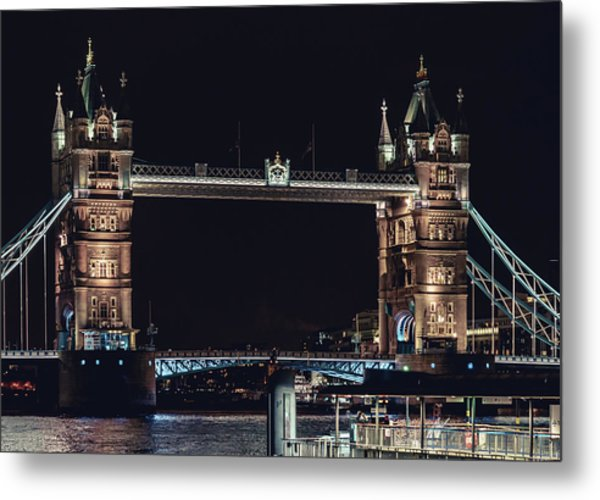 Tower Bridge 4 Metal Print