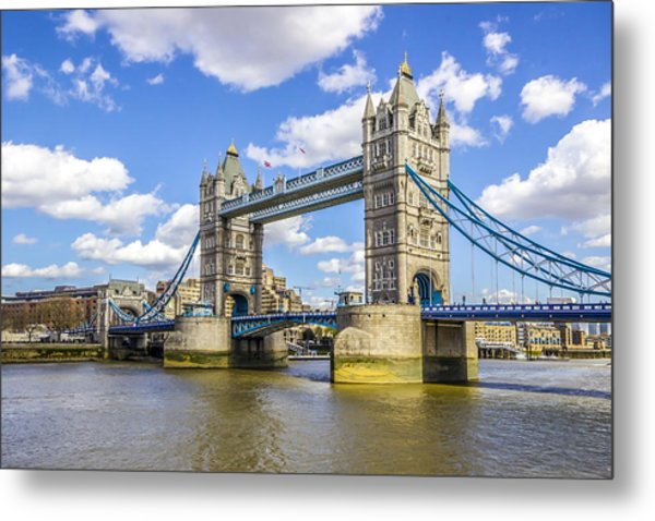 Tower Bridge Metal Print by Angela Aird