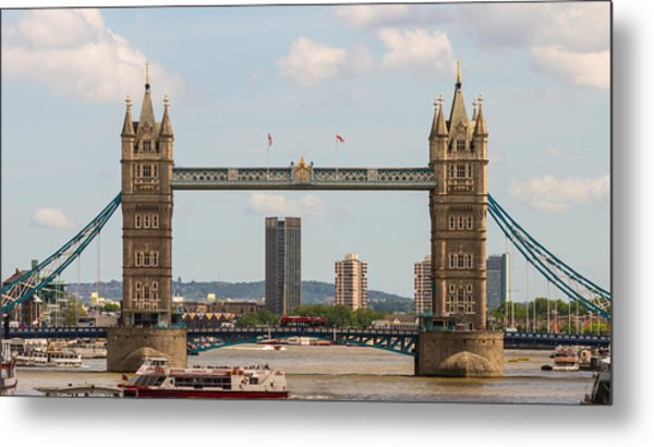Tower Bridge C Metal Print