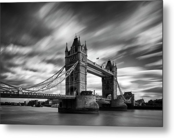 Tower Bridge, River Thames, London, England, Uk Metal Print by Jason Friend Photography Ltd