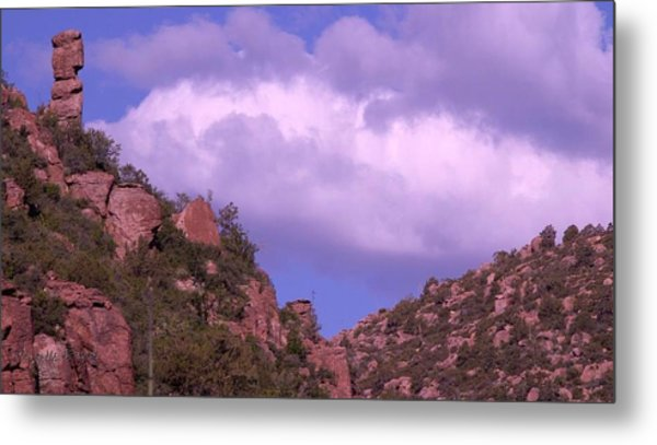 Tower Mountain Metal Print