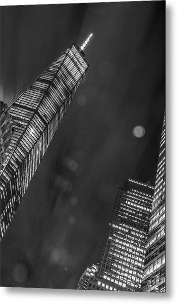Tower Nights Metal Print