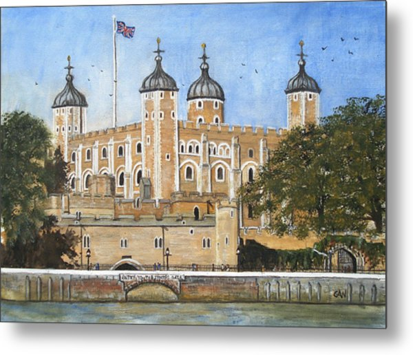 Tower Of London Metal Print by Carol Williams